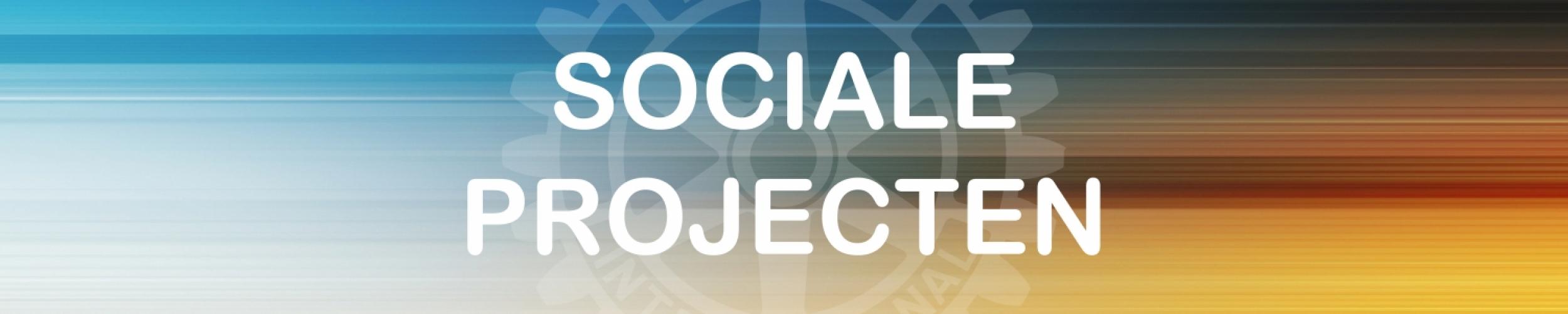 Sociale projecten gesteund door Rotary Geel