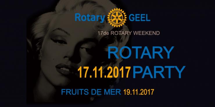 17de Rotary Weekend van Rotary Geel