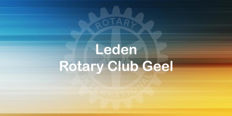 Leden Rotary Geel